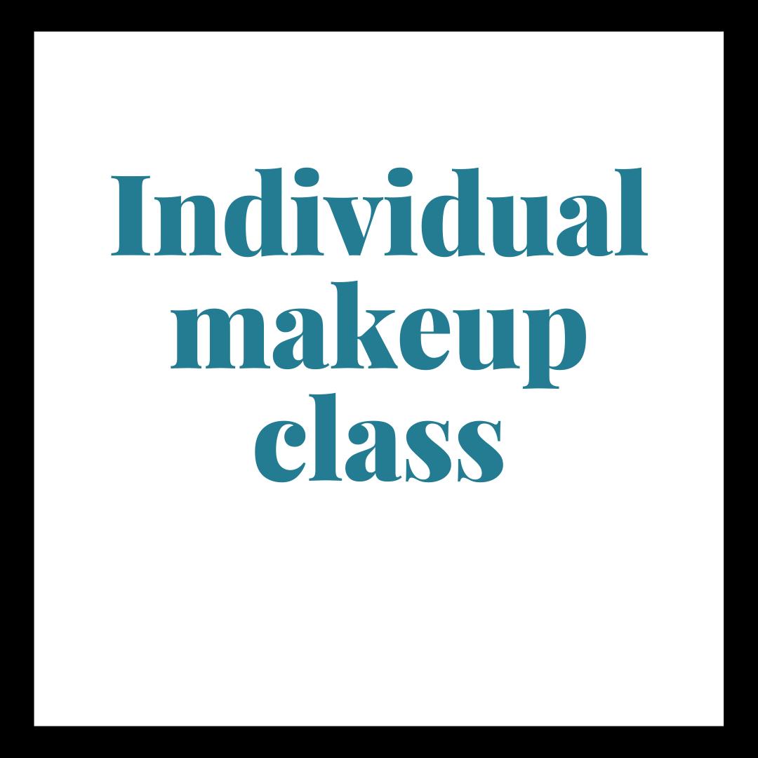 personal makeup class